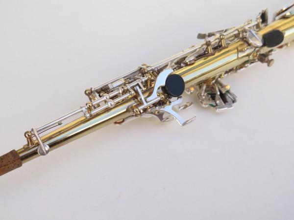 Saxophone soprano Selmer Super Action 80 série 2 verni clétage argenté (4)