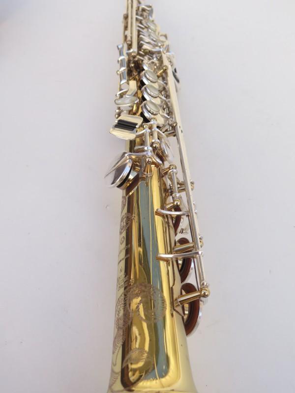 Saxophone soprano Selmer Super Action 80 série 2 verni clétage argenté (7)