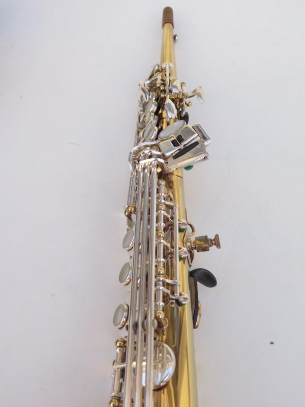 Saxophone soprano Selmer Super Action 80 série 2 verni clétage argenté (8)
