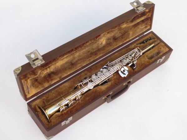 Saxophone soprano Selmer Super Action 80 série 2 verni clétage argenté (9)
