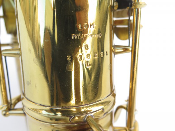 Saxophone ténor Conn 10 M verni (10)