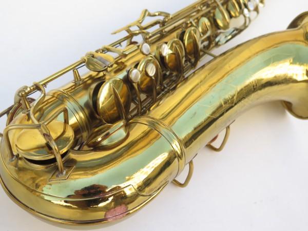 Saxophone ténor Conn 10 M verni (5)