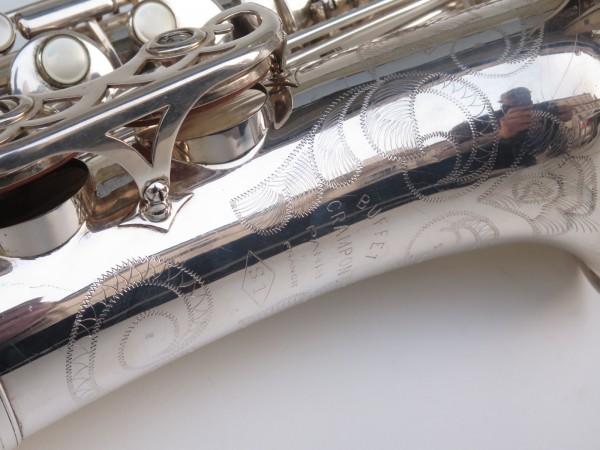 Saxophone alto Buffet Crampon S1 argenté (7)
