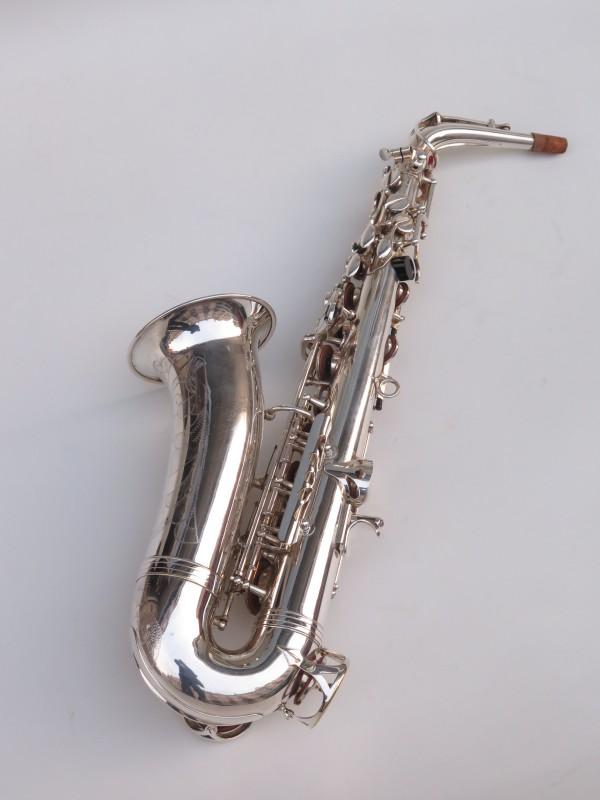 Saxophone alto Buffet Crampon S1 argenté (8)