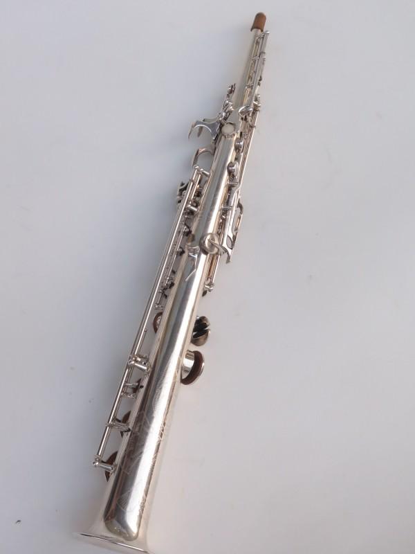 Saxophone soprano Buffet Crampon S1 argenté (12)