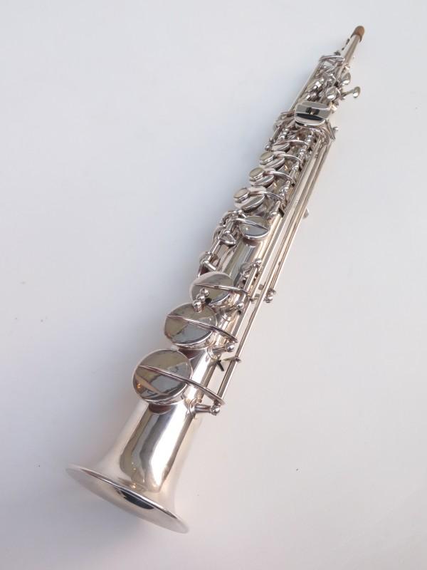 Saxophone soprano Buffet Crampon S1 argenté (8)