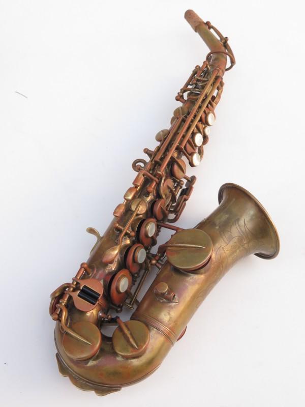 Saxophone soprano courbe Buescher (2)