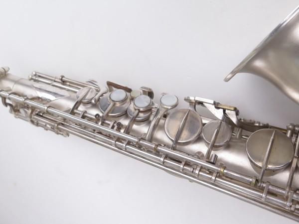 Saxophone alto Lebblanc semi rationnel argenté sablé gravé (17)