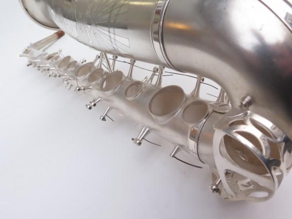 Saxophone alto Lebblanc semi rationnel argenté sablé gravé (3)