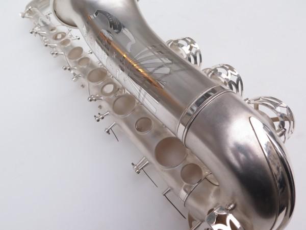 Saxophone alto Lebblanc semi rationnel argenté sablé gravé (4)