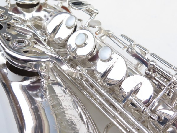saxophone alto Selmer Super Balanced Action argenté (14)