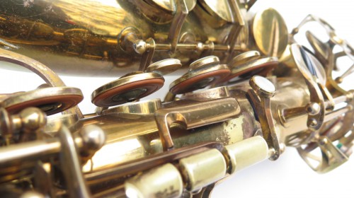 Saxophone alto Buffet Crampon verni gravé (1)