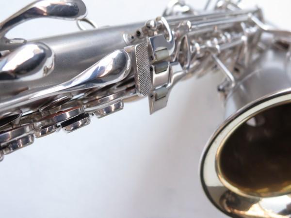 Saxophone alto Conn Chu Berry argenté sablé (10)