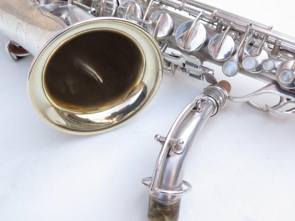 Saxophone alto Conn Chu Berry argenté sablé (11)
