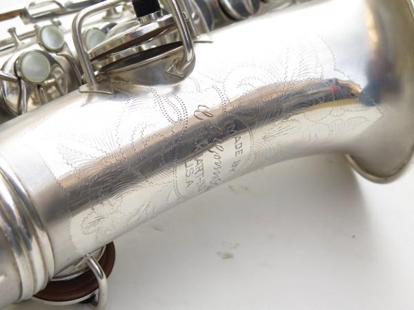 Saxophone alto Conn Chu Berry argenté sablé (14)