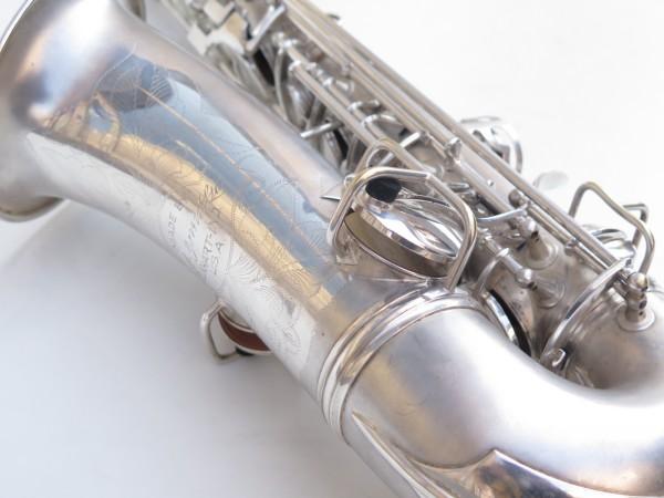 Saxophone alto Conn Chu Berry argenté sablé (19)