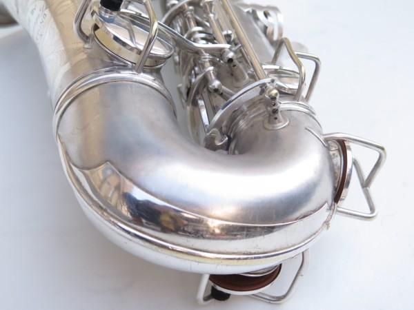 Saxophone alto Conn Chu Berry argenté sablé (2)