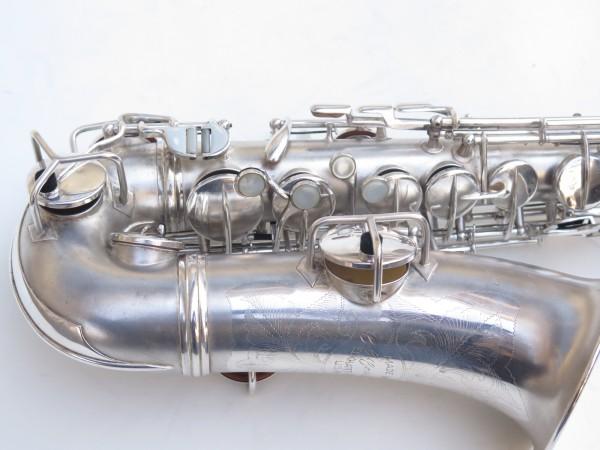 Saxophone alto Conn Chu Berry argenté sablé (3)