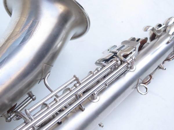 Saxophone alto Conn Chu Berry argenté sablé (4)