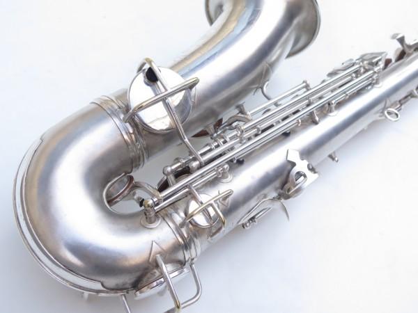 Saxophone alto Conn Chu Berry argenté sablé (5)