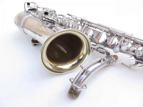 Saxophone alto Conn Chu Berry argenté sablé (6)