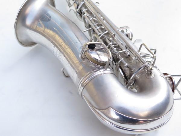 Saxophone alto Conn Chu Berry argenté sablé (8)