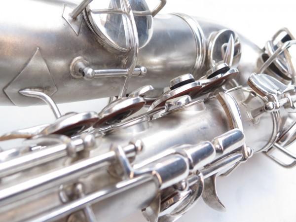 Saxophone alto Conn Chu Berry argenté sablé (9)