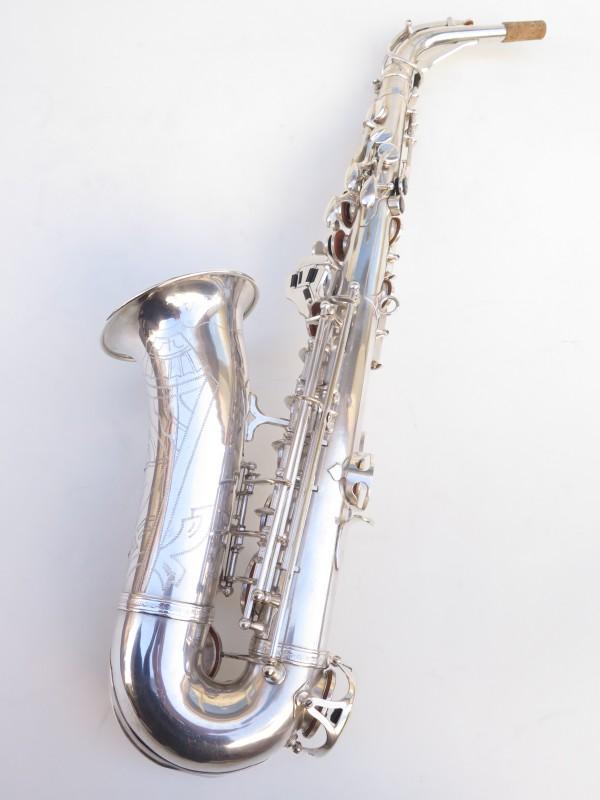 Saxophone alto SML argenté gravé standard (15)