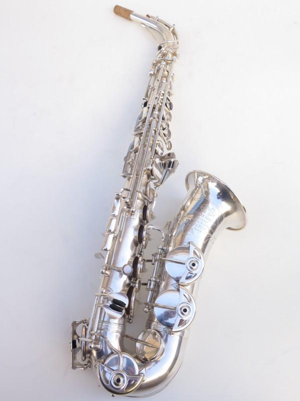 Saxophone alto SML argenté gravé standard (16)