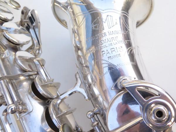 Saxophone alto SML argenté gravé standard (17)
