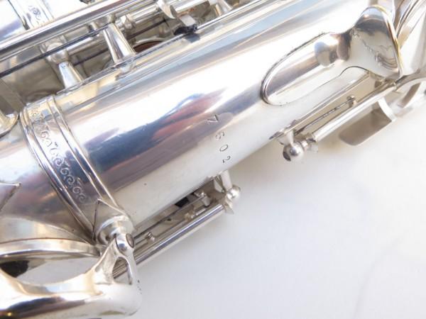 Saxophone alto SML argenté gravé standard (6)
