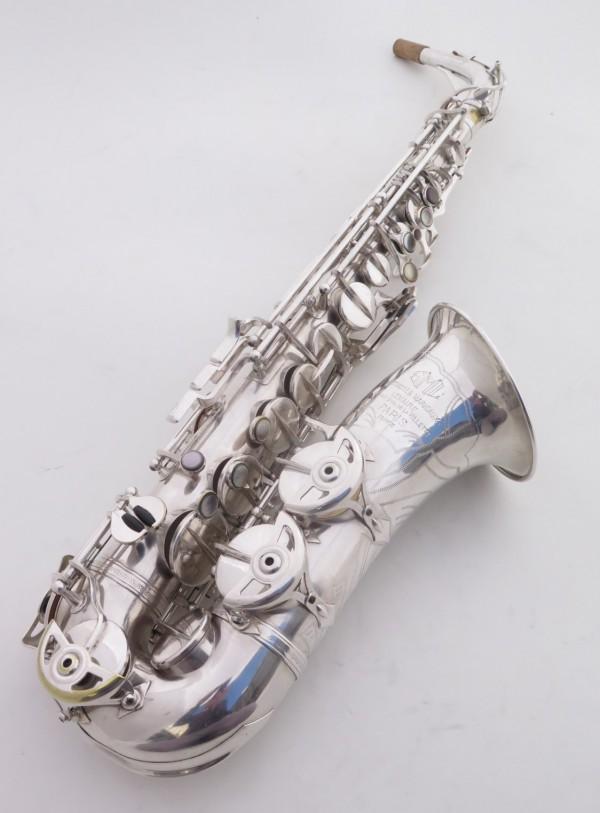 Saxophone alto SML argenté gravé standard (7)