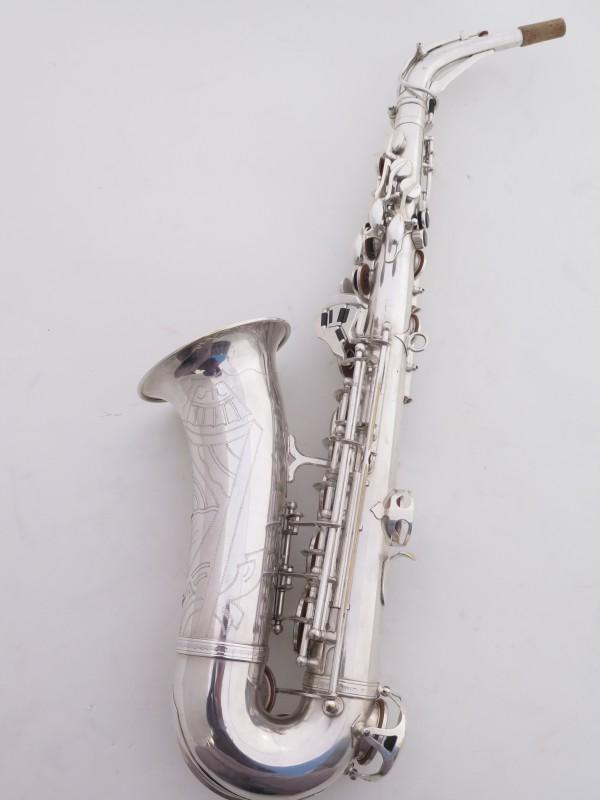 Saxophone alto SML argenté gravé standard (8)