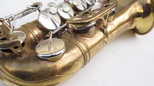 Saxophone alto Selmer Mark 6 verni clétage argenté (1)