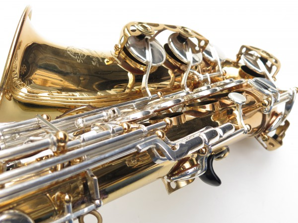 Saxophone alto Selmer Mark 6 verni clétage argenté (10)