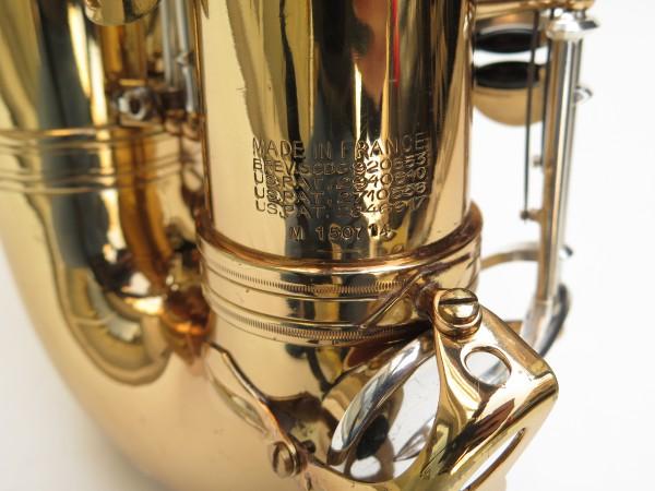 Saxophone alto Selmer Mark 6 verni clétage argenté (11)