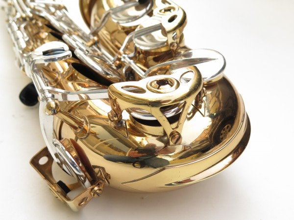 Saxophone alto Selmer Mark 6 verni clétage argenté (12)