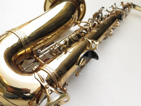 Saxophone alto Selmer Mark 6 verni clétage argenté (13)