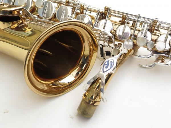 Saxophone alto Selmer Mark 6 verni clétage argenté (14)