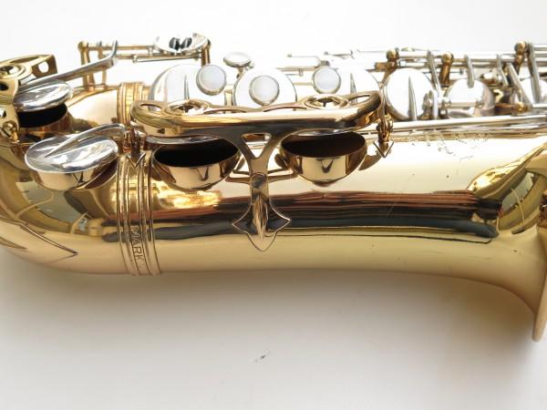 Saxophone alto Selmer Mark 6 verni clétage argenté (15)