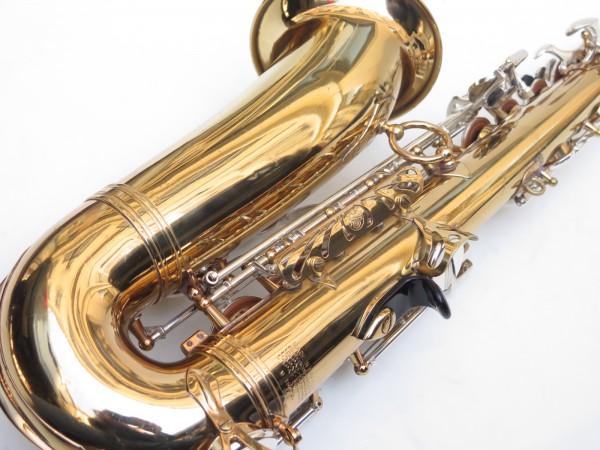 Saxophone alto Selmer Mark 6 verni clétage argenté (17)