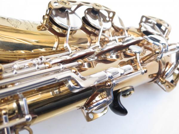 Saxophone alto Selmer Mark 6 verni clétage argenté (18)