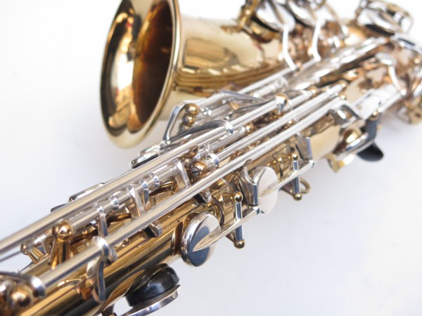 Saxophone alto Selmer Mark 6 verni clétage argenté (20)
