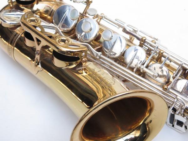 Saxophone alto Selmer Mark 6 verni clétage argenté (2)