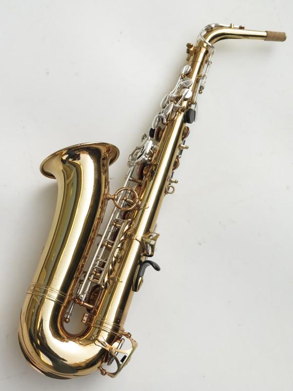 Saxophone alto Selmer Mark 6 verni clétage argenté (4)