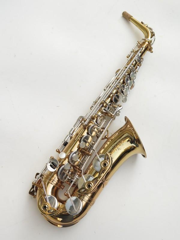 Saxophone alto Selmer Mark 6 verni clétage argenté (5)