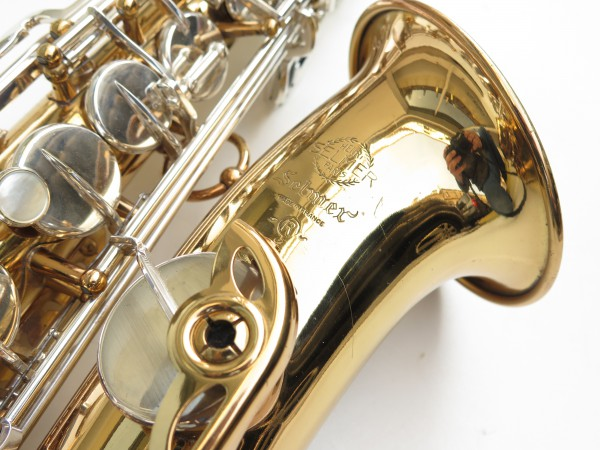 Saxophone alto Selmer Mark 6 verni clétage argenté (6)