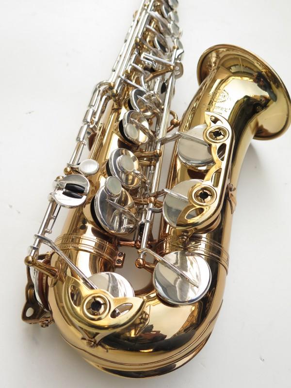Saxophone alto Selmer Mark 6 verni clétage argenté (7)