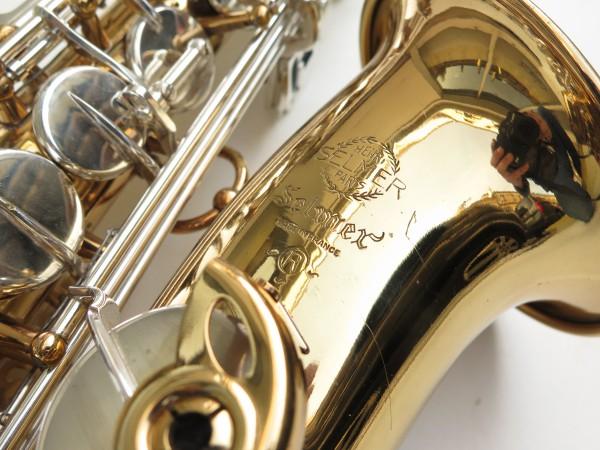 Saxophone alto Selmer Mark 6 verni clétage argenté (8)