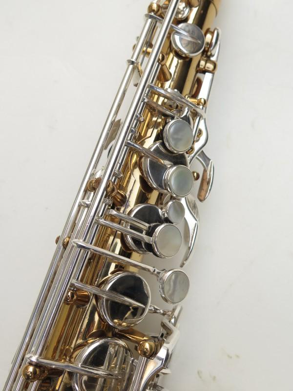 Saxophone alto Selmer Mark 6 verni clétage argenté (9)